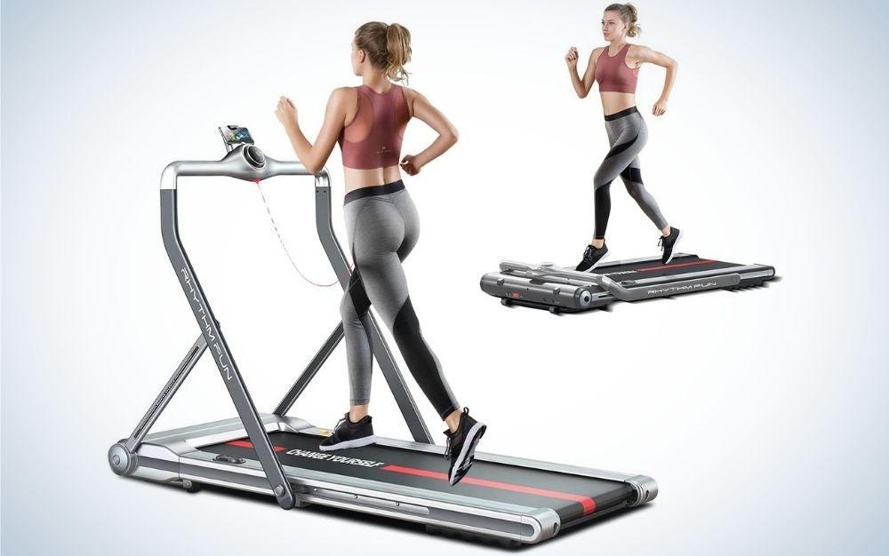 The Rhythm Fun Treadmill is the best treadmill desk splurge.