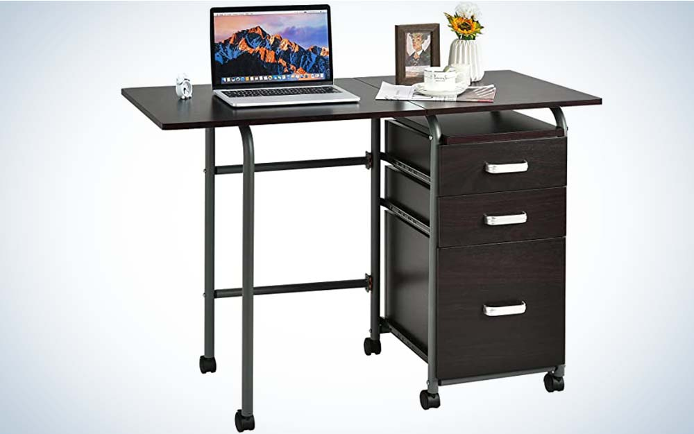 The Tangula is the best folding writing desk.