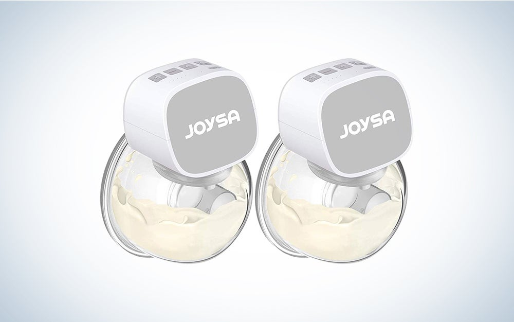 The JOYSA Double-Electric Breast Pump is the best wearable