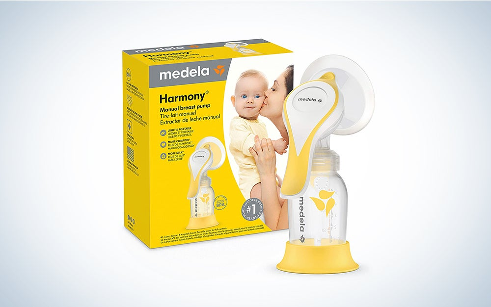 The New Medela Harmony is the best manual breast pump.