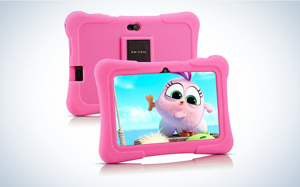 The Pritom 7-inch Kids Tablet is the best tablet for kids who can't be trusted with nice things.