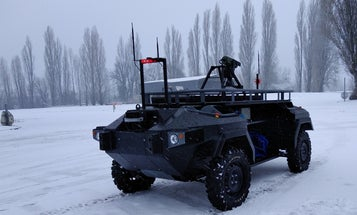 Meet Robbox, the robot that schleps a half-ton of supplies for special forces