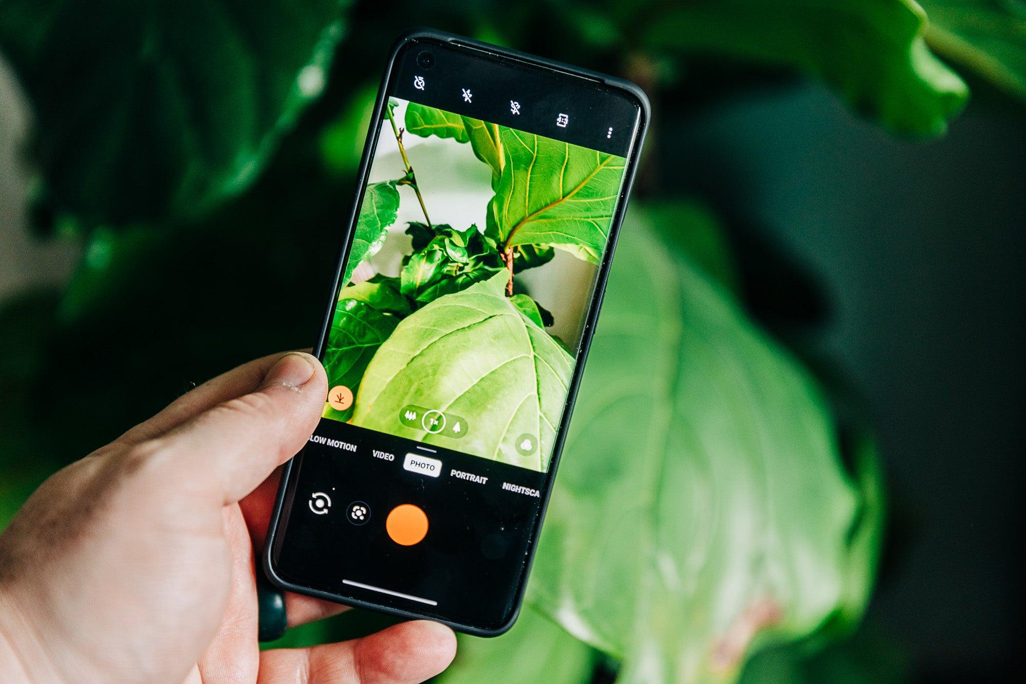 OnePlus 9 Pro camera app