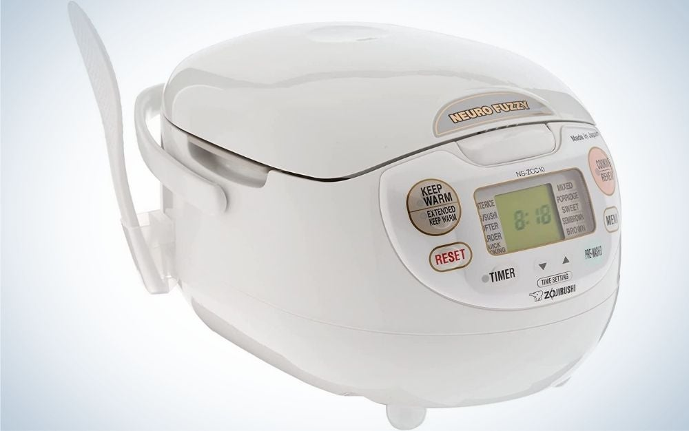 The Zojirushi Neuro Fuzzy Rice Cooker is the best pick overall.