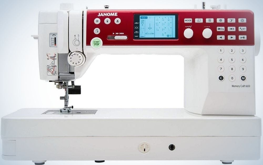 The Janome MC6650 Sewing and Quilting Machine is our pick for best overall.