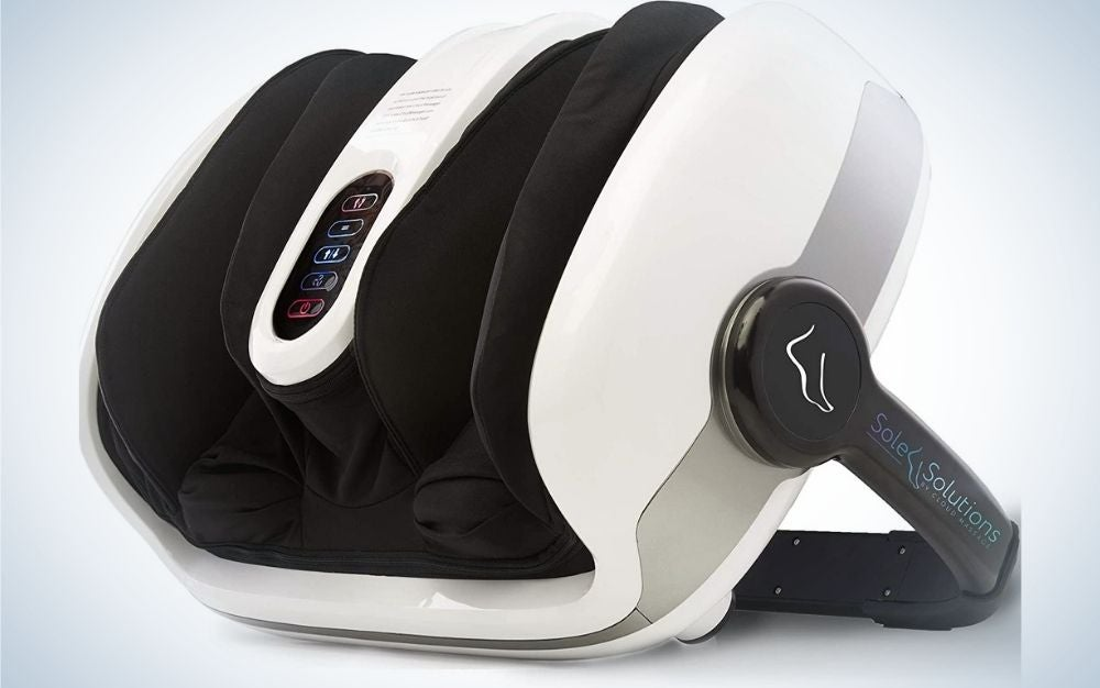 The Cloud Massage Shiatsu Foot Massager Machine is the best leg and foot massager.