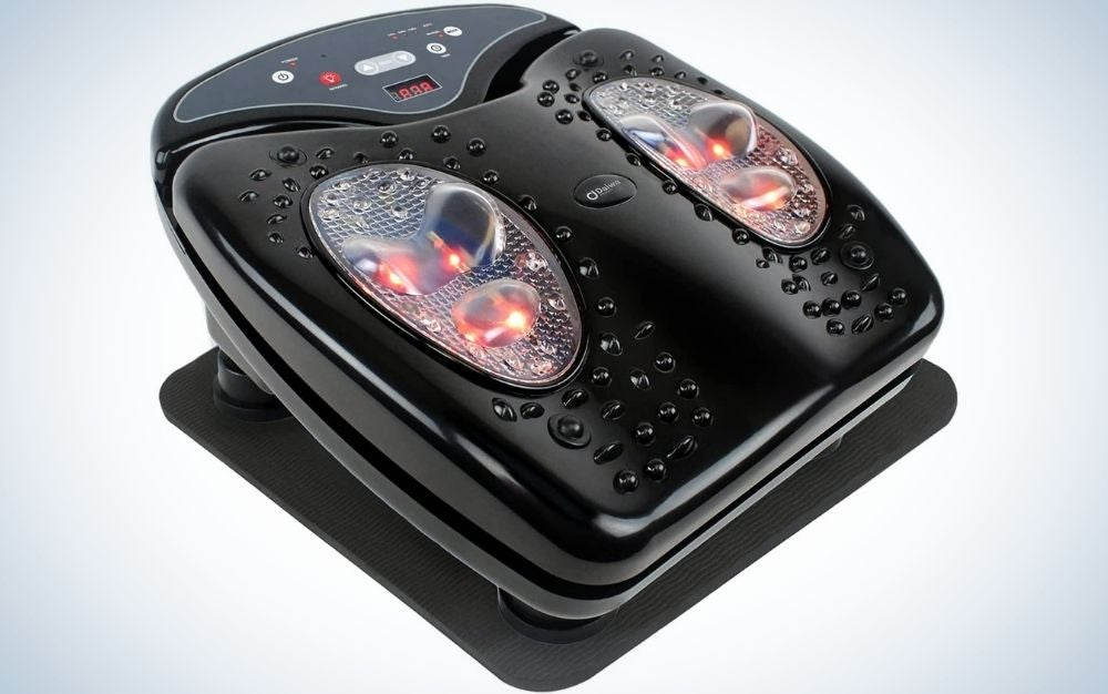 The Daiwa Felicity Foot Massager is the best vibrating foot massager.