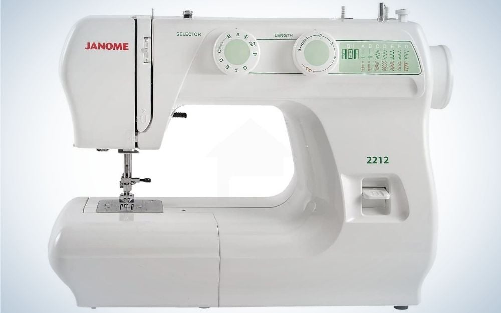 The Janone 2212 Sewing Machine is our pick for best manual model.