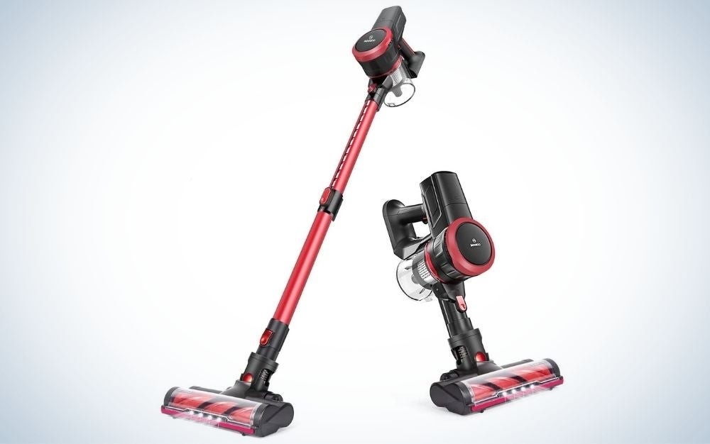 The Moosoo K17 cordless vacuum is the best stick vacuum that's two-in-one.