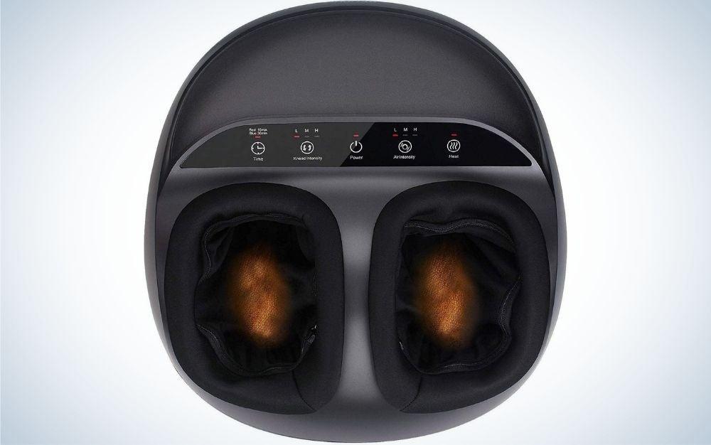 The Renpho Foot Massager Machine is the best shiatsu foot massager.