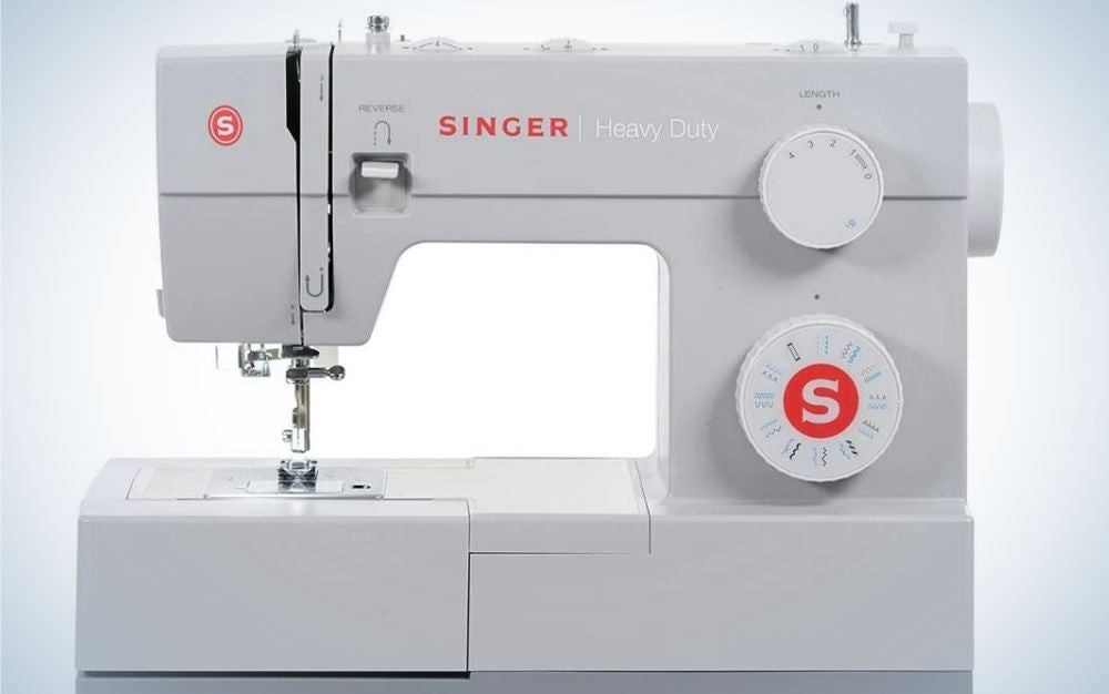 The Singer 4423 is our pick for best heavy-duty sewing machine.