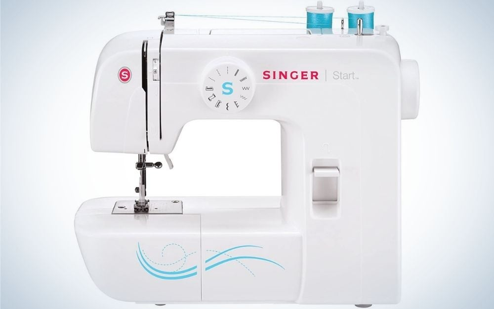 The Singer Start 1304 6 is the best sewing machine for beginners.