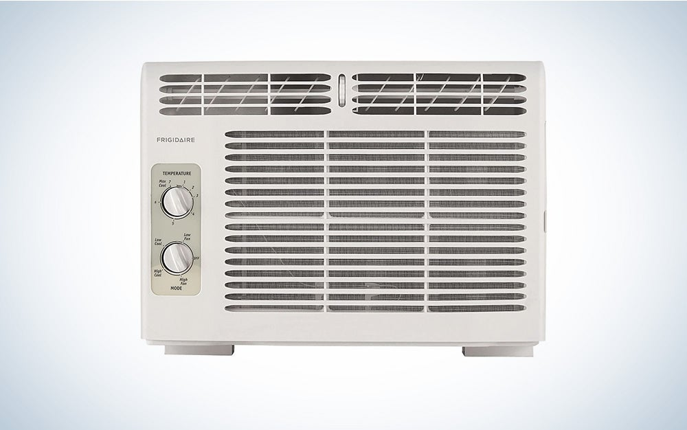 The Frigidaire Mini-Compact Air Conditioner is the best for small rooms