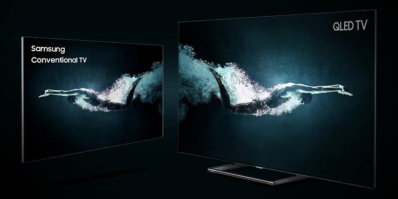 Samsung QLED comparison