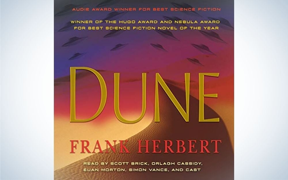 Dune by Frank Herbert is the best Audible book for business travelers.