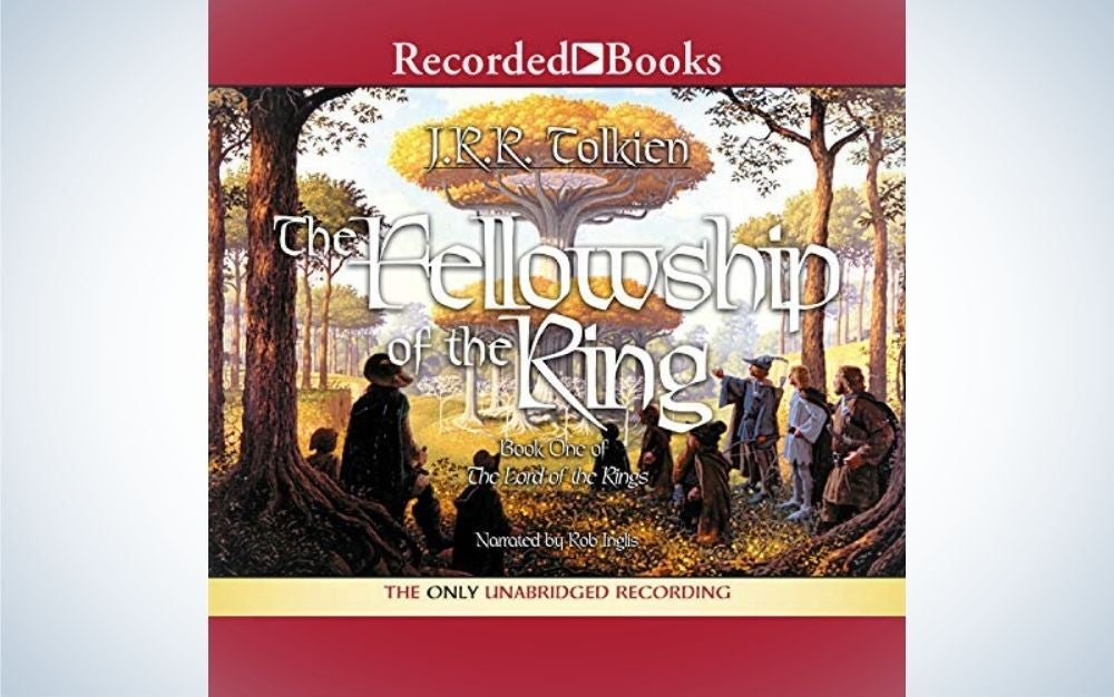The Fellowship of the Ring by J.R.R. Tolkein is the best Audible book for bedtime.