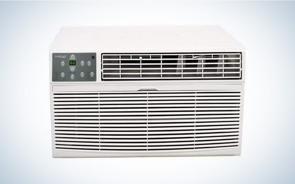 The Koldfront Through the Wall Air Conditioner is the best air conditioner/heater combo.