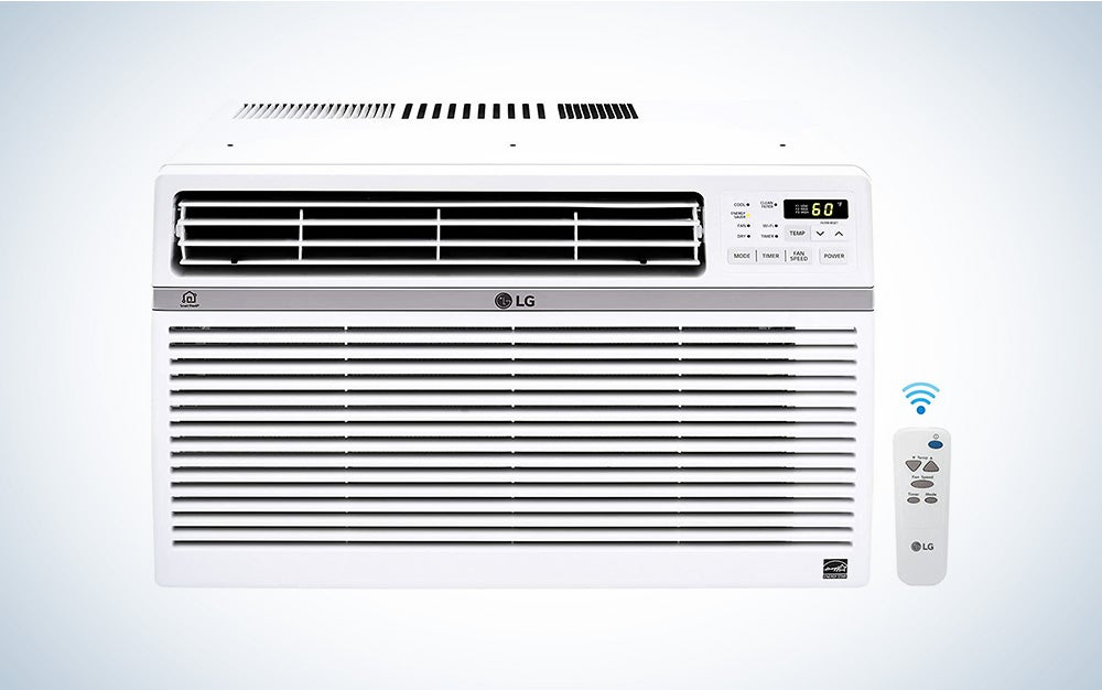 The LG LW8017ER is the best smart window air conditioner.