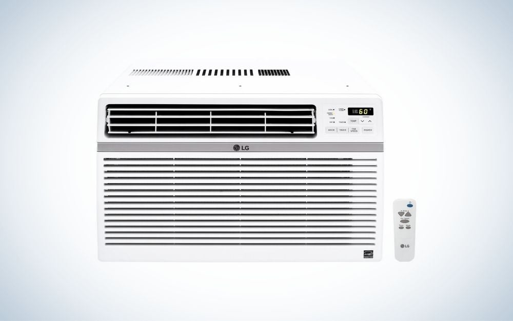 The LG Window Air Conditioner is the best for large rooms.