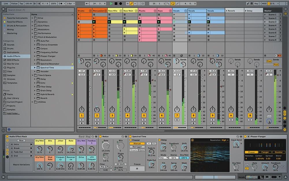 Ableton Live 11 screenshot