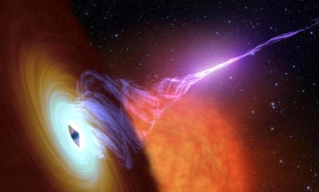 One of Einstein's predictions on black holes has finally been confirmed