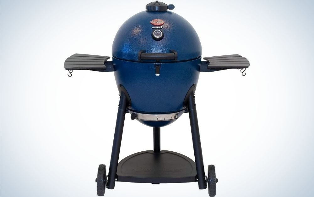 The Char-Griller E56729 AKORN Kamado Charcoal Grill is the best for experienced grillers.