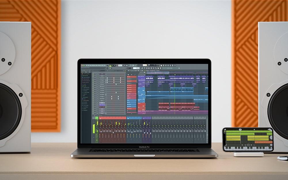 Fruity Loops 20 on a MacBook