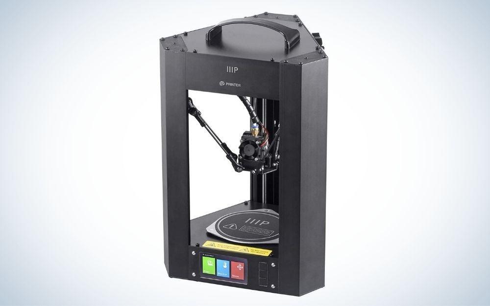 The Monoprice Mini Delta V2 is the best budget 3D printer.