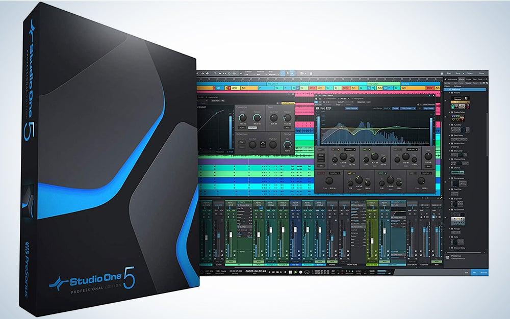 PreSonus Studio One 5 with packaging