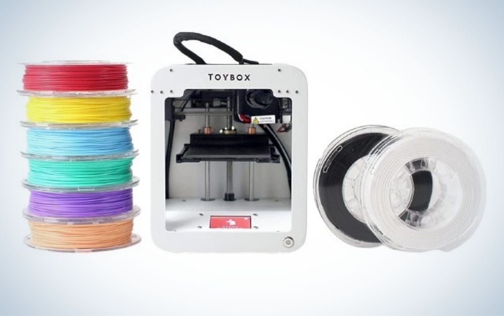 Toybox is the best 3D printer for kids.