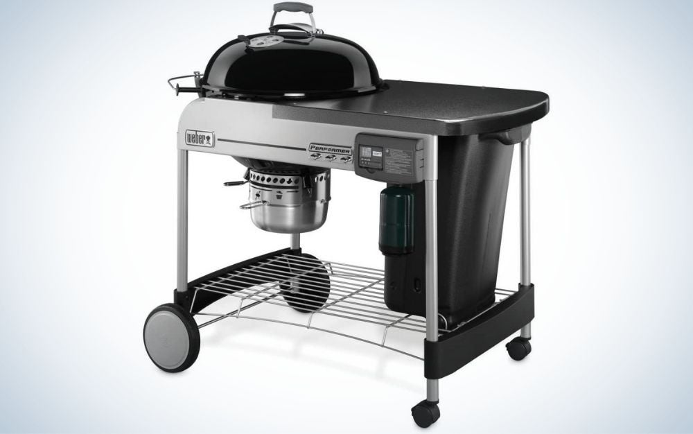 The Weber 15501001 Performer is the best charcoal grill for gas-grill lovers.