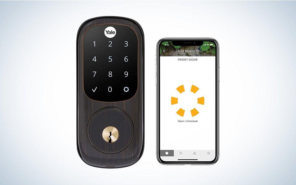 yale smart lock samsung smart home