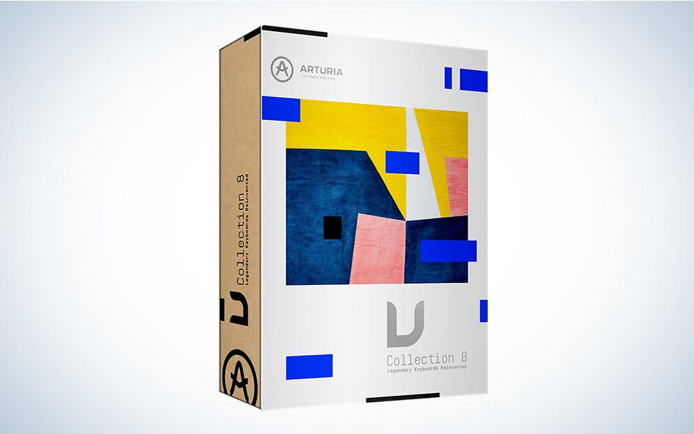 Arturia V Collection 8 is the best music production software.
