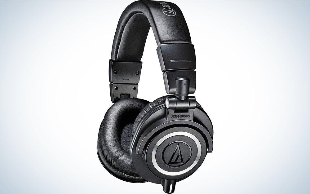 audio technica m50x is the best over ear headphones