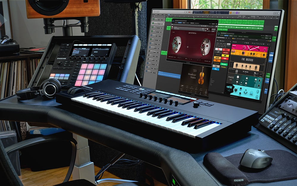 Native Instruments Komplete 13 is the best music production software.