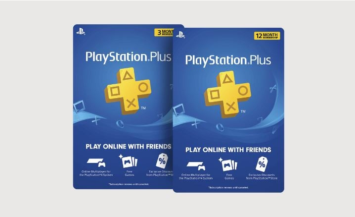 PlayStation Plus cards