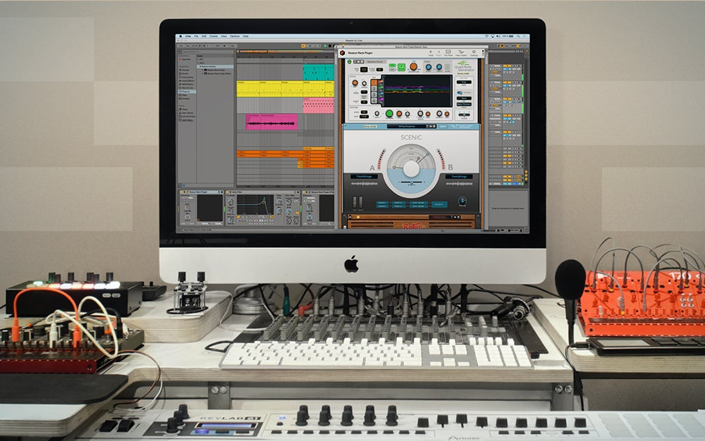 Reason + is the best music production software.