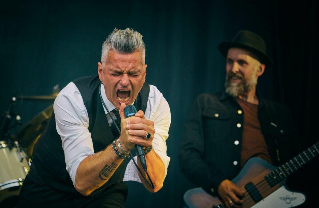 Janove Ottesen performing at Drøbakfestivalen 2018