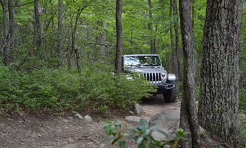 Driving the Jeep Wrangler 4xe makes for a quiet and electric off-road adventure