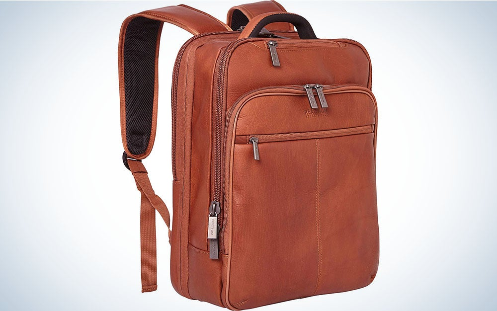 The best stylish backpack for college is the Kenneth Cole Reaction Manhattan Slim Backpack