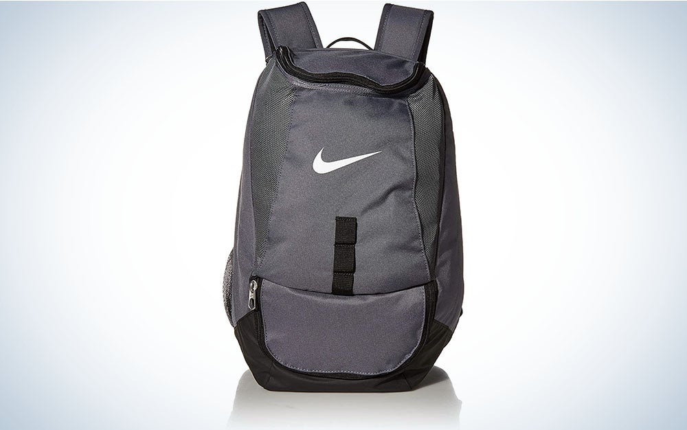 The best backpacks for college athletes is the Nike Team Swoosh pack