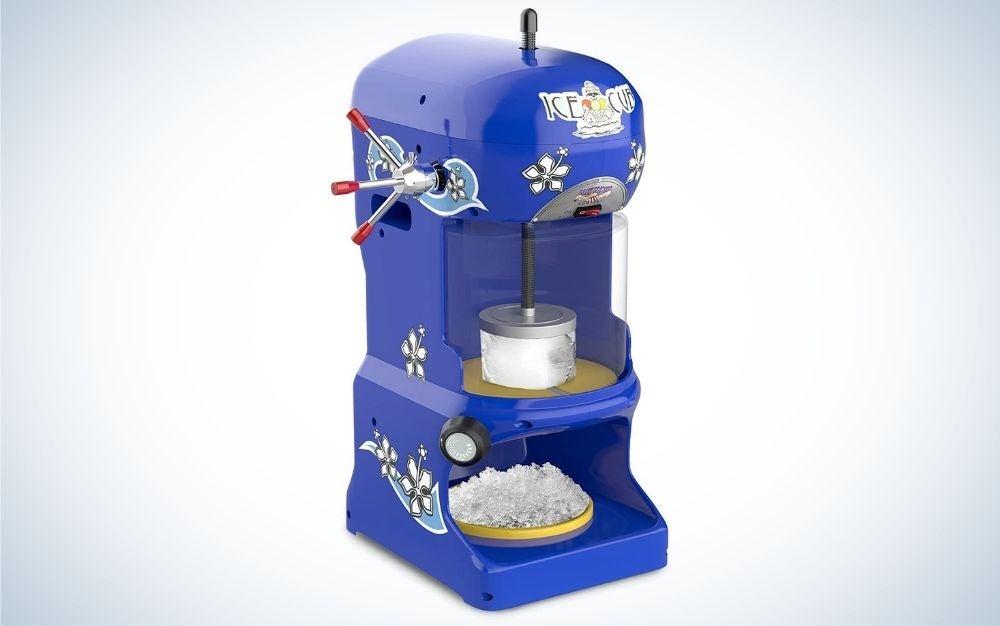 The Great Northern Premium Hawaiian is the best snow cone machine.