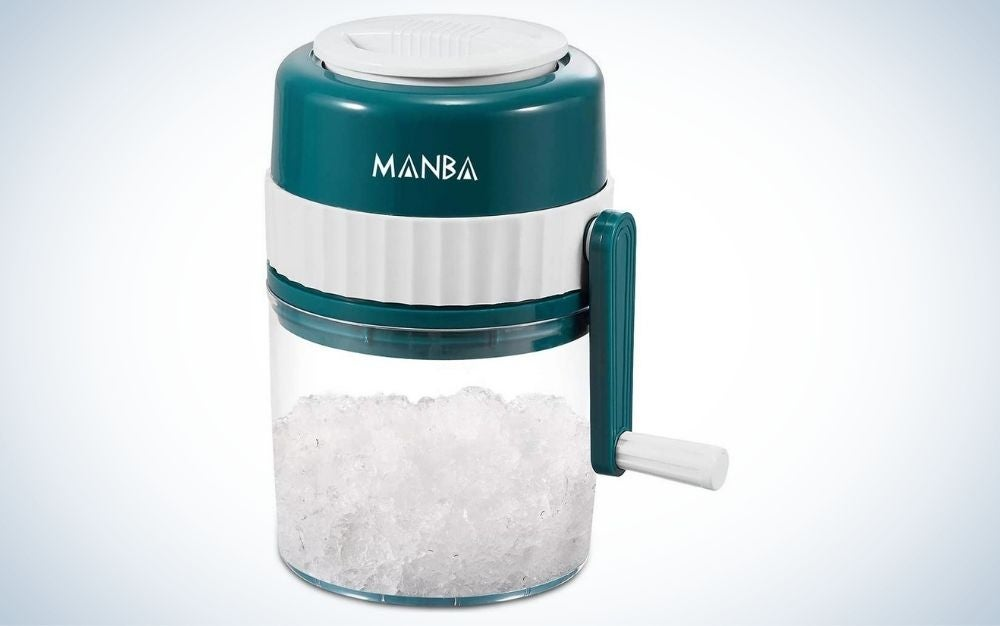 The Manba Ice Shaver is the best snow-cone machine on a budget.