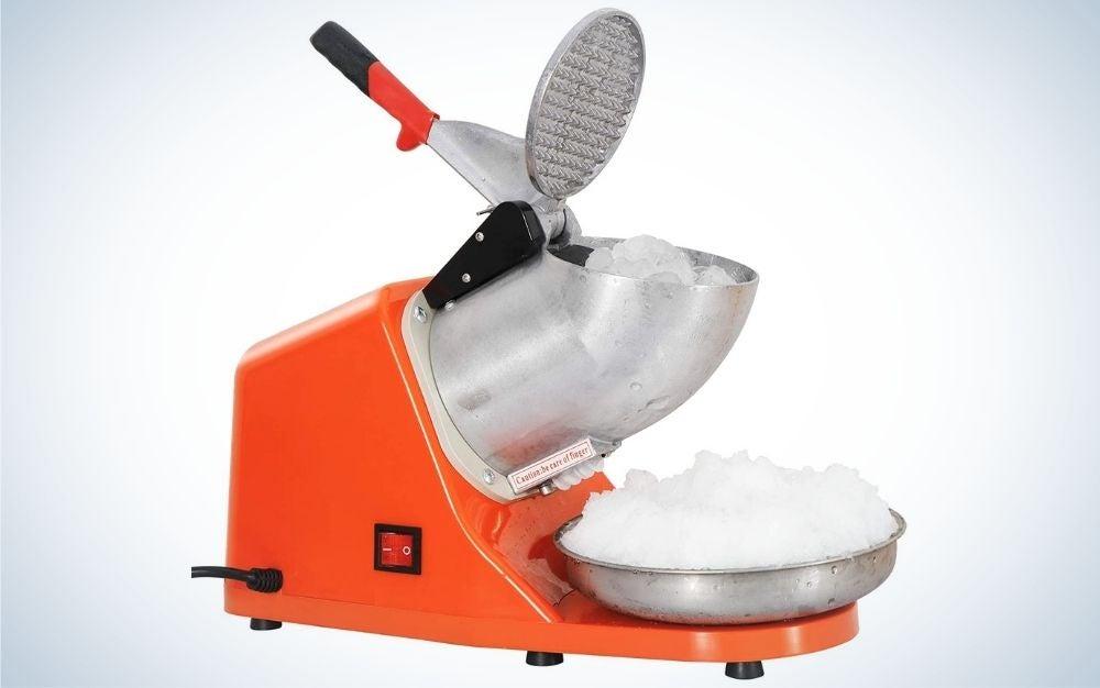 The Zeny Ice Crushers Machine is the best snow-cone machine.