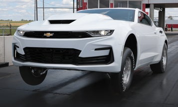 This Camaro has an engine so huge you can only drive it on the track