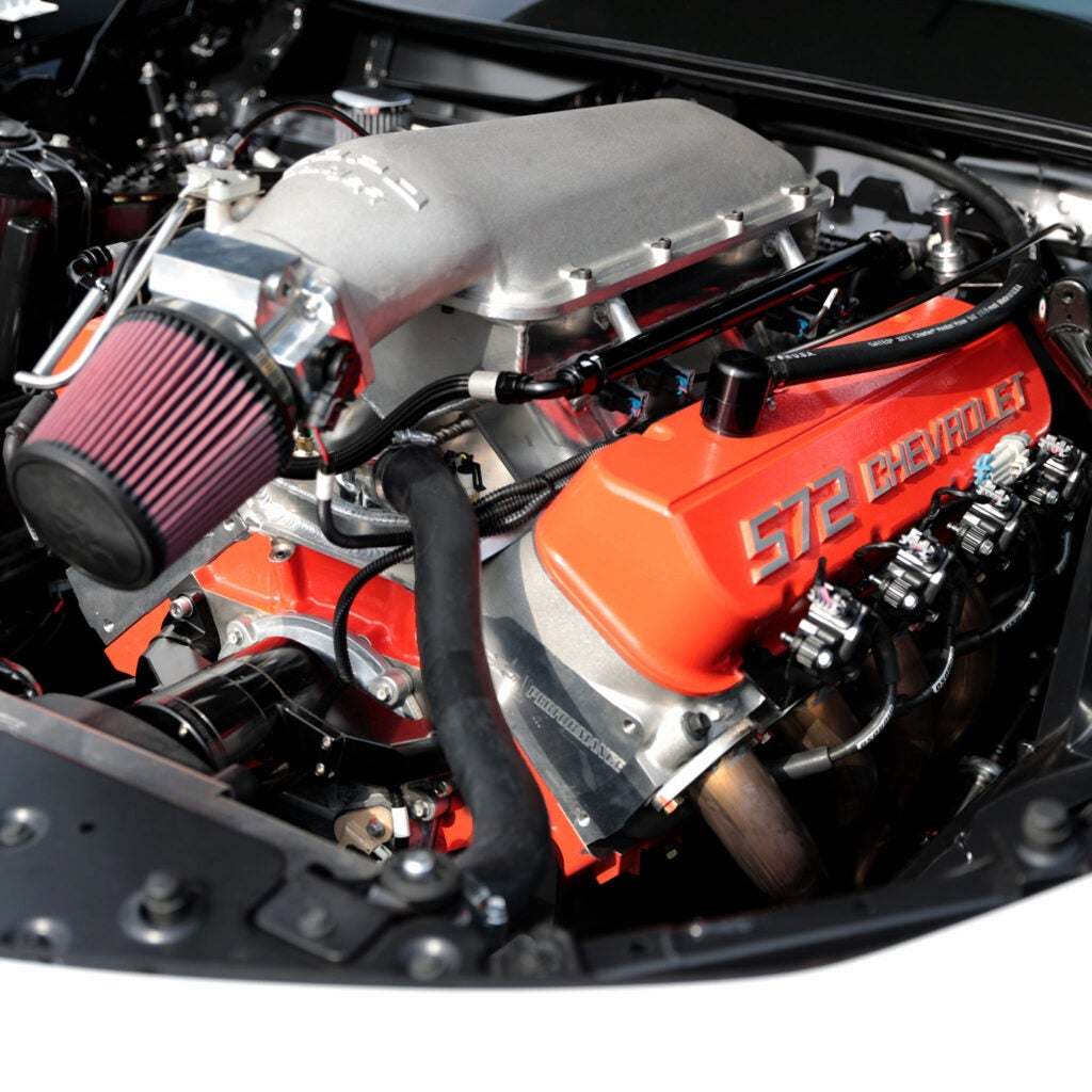 a large engine