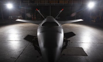 This cutting-edge drone is headed out to pasture at an Air Force museum