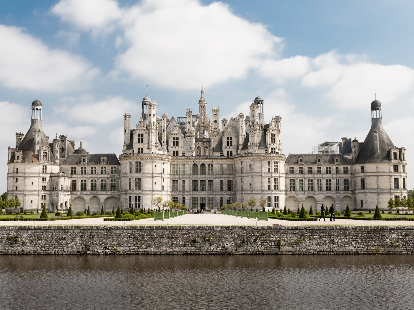 The Château de Chambord in Chambord, France, which may not make a great memory palace.