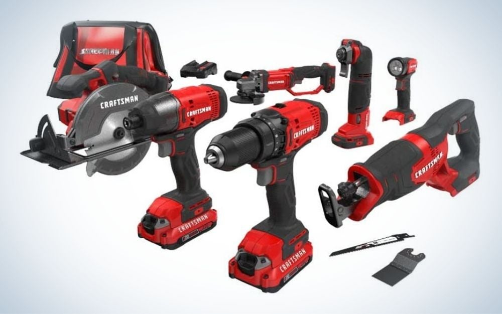 The Craftsman V20 Cordless Drill Combo Kit is the best for homeowners.