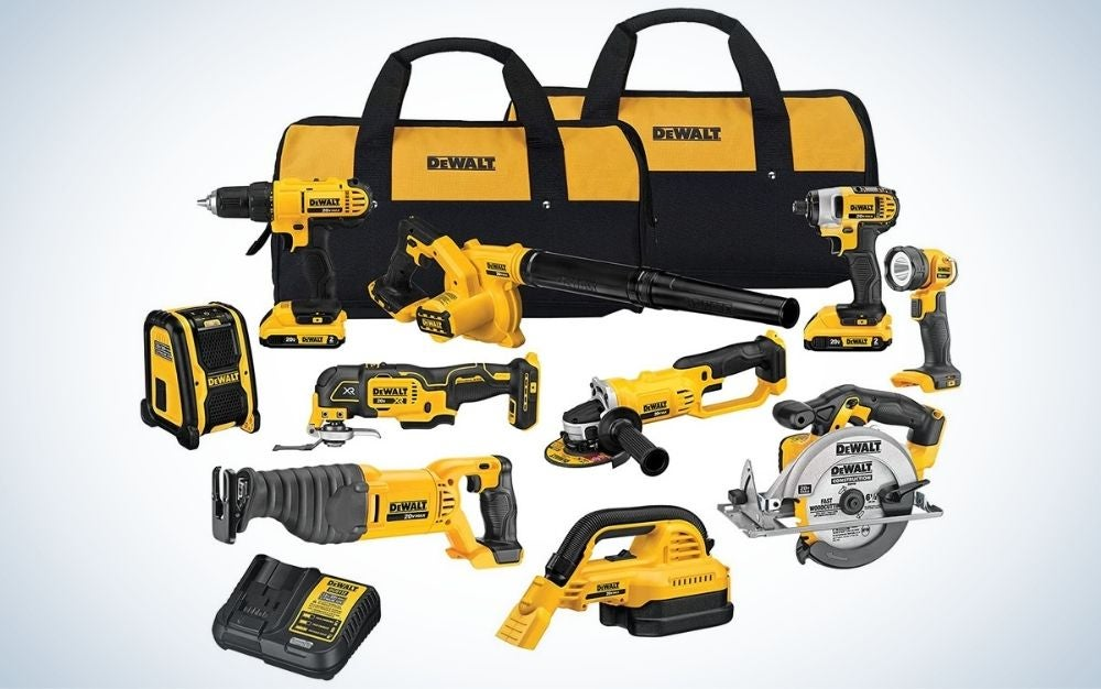 The DeWalt 20V Max Cordless Drill Combo Kit is the best for intermediate builders.